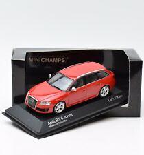Minichamps 400017210 Audi RS 6 Avant Bj.2007 in rot, 1:43 , OVP, K088