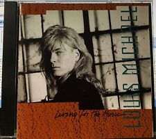 Louis Michael - Living For The Music (CD,1991,AMI Records,US INDIE) NEW SEALED