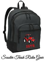 Personalized Tractor Backpack school NEW boys book bag monogrammed NEW