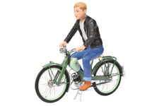 Schuco - 450662800 - NSU Quickly mit Figur, Maßstab 1:10, Moped,