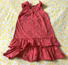 Pink Spotty Dress From Next In Size 5-6 Years