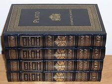 Easton Press COMPLETE WORKS OF PLATO in 4 vols