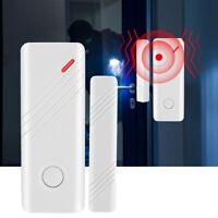 Door Window Open Alarm Wireless Intruder Magnetic Sensor Contact Anti-Theft