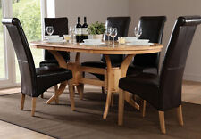 Oak Oval Kitchen & Dining Tables
