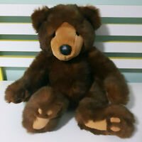 Russ Grizzles Grizzly Bear Plush Toy w/ Swing Tag Brown Bear Toy 31cm Tall!