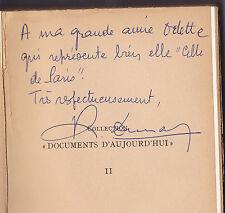 RENE DUNAN <SIGNE DE L'AUTEUR< CEUX DE PARIS AOUT 1944