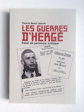 Ouvrage Les guerres d'Hergé Benoit Jeannin 2007 ETAT NEUF