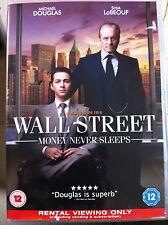 MICHAEL DOUGLAS Wall Street 2: MONEY NEVER SLEEPS ~ 2010 , Oliver Stone GB DVD