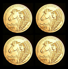 2012 P+D Native American Sacagawea Set ~ Positions AB from Original Mint Rolls