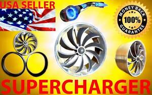 Volvo Saab Turbo Air Intake Supercharger Engine Fan Kit