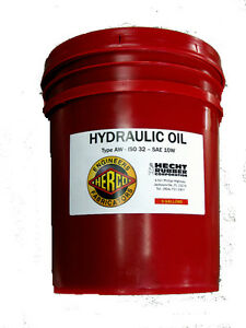 Hecht Hydraulic Oil AW ISO 32 10W - 5 Gallons