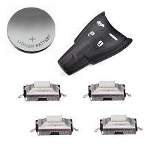 Kit riparazione per SAAB 9-3 9-5 AERO 93 95 4 TASTI SMART telecomando auto