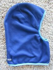Patagonia Two Tone Blue Face Mask/Neck Warmer Fleece Winter Snow Hat OSFA
