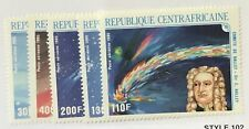 Central African Republic #C318-C322 MNH CV$12.15 Halley's Comet/Gioto/Ve...