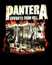 PANTERA - COWBOYS FROM HELL CD COVER Official SHIRT XL New superjoint, down