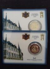 DISPO 2 euro BU LUXEMBOURG 2020 Commémo  Prince Henri. Pont de Selve.