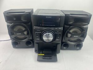Sony HCD-EC619i Home Audio Stereo System CD iPhone Dock USB AM FM Receiver 2010