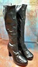 WOMENS KNEE HIGH BOOTS SIZE UK 5  LOWER EAST SIDE