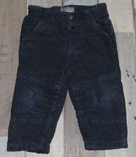~ Pantalon en velours côtelé bleu ORCHESTRA garçon 12 mois 74cm ~ FIC71