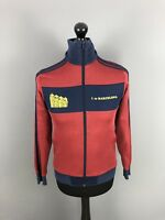 ADIDAS BARCELONA Track Jacket - XS - Burgundy - Great Condition - Mens