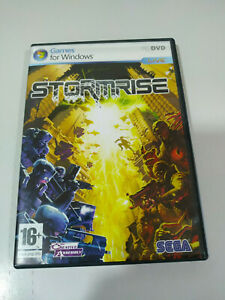 Stormrise Jeu De PC Dvd-Rom Espagnol Jeux For Windows Sega - Am