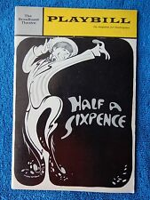 Half A Sixpence - Broadhurst Theatre Playbill - August 1965 - Tommy Steele