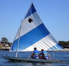 Brand New Sunfish Sailboat Sail Blue White / around 1 week delivery