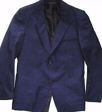 "BLAZER Security/Casual/Concierge/Business WOOL JACKET BLUE 36/38/40/42/44/46"" UK"