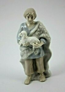 Royal Doulton Holiday Nativity Shepard Boy With Lamb Replacement 2005