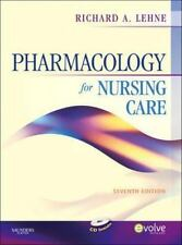 Pharmacology for Nursing Care by Richard A. Lehne (2009, Hardcover)