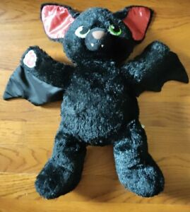 "Build-A-Bear Vampire Bat 19"" Plush Spooktacular Boorrific Black"