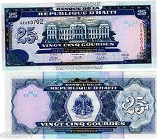 HAITI Billet 25 Gourdes 2014 ( 2015 )  P266 COMMEMORATIVE NEUF UNC