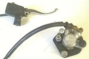 Parts for Pioneer Nevada & others COMPLETE TESTED FRONT BRAKE SET