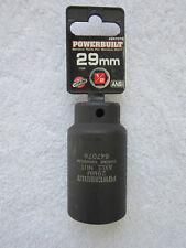 PowerBuilt - 29 mm [1/2-Inch Drive] Axle Nut Socket (Part # 647076) **NEW**