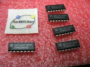 MC14071BCP Motorola CMOS Quad 2-Input OR Gate IC MC14071 4071 - NOS Qty 5