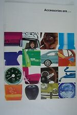 vw beetle bug karmann ghia station wagon truck van Owners sales brochure