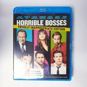 Horrible Bosses Movie Bluray Free Postage Blu-ray - Comedy