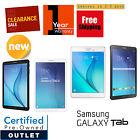 Samsung Galaxy Tab E 8.0in or 9.6in 16GB Black/White Wi-Fi +4G Tablet Warranty