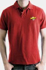 Big Bang Theory Polo Shirt Bazinga Logo Gr. L