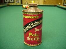 National Bohemian Pale Beer Cone Top Beer Can
