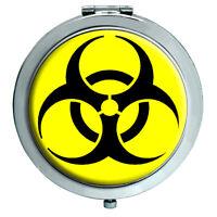 Biohazard Símbolo Espejo Compacto