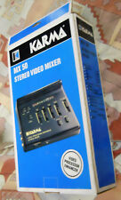 KARMA  MX50 AUDIO-VIDEO PROCESSOR and STEREO MIXER  Analogic VINTAGE