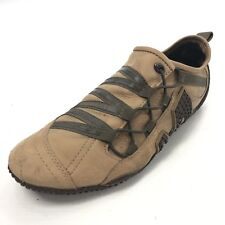 MERRELL Relay Web Women's 7 Brown Suede Trainers Oxfords