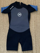 New listing Kids Hot Tuna Shortie Wetsuit Age 5-6 Pre owned
