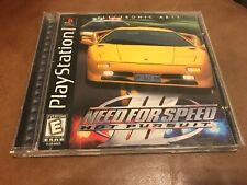 Need for Speed III: Hot Pursuit (Sony PlayStation 1 (PS1)Complete - Black Label