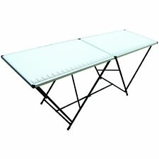 Picnic Party Table Folding Trestle 2M Camping Bbq Banquet Garden Utility Paste