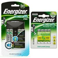 Energizer Pro Charger + 4x AA 2000mAh + 4x AAA 700mAh Rechargeable Batteries