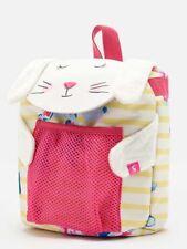 3ef83c9378 Joules Girls Junior Buddie Character Rucksack - Bunny - 26cm X 20cm -