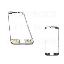 2 x  GENUINE IPHONE 6 BLACK OUTER LCD TOUCH SCREEN TRIM BEZEL + 3M STICKER PART