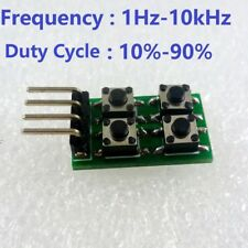 Duty Cycle Frequency Adjustable PWM Square Wave Pulse Generator Module LED NE555
